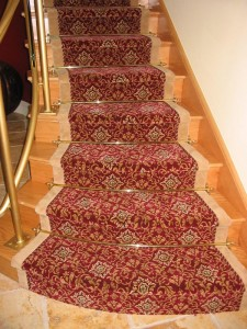 Custom Carpet Runners & stair rods