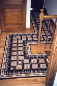 custom hall rugs runners & stair rods