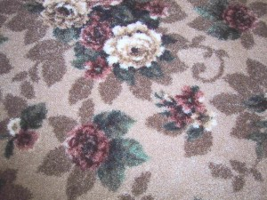 Fashion carpets carpet hardwood flooring in clifton nj for Floral pattern wall to wall carpet