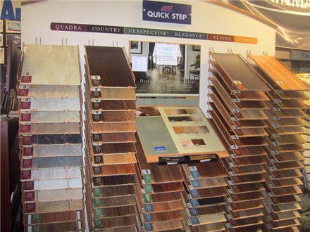 quick-step laminate flooring rack