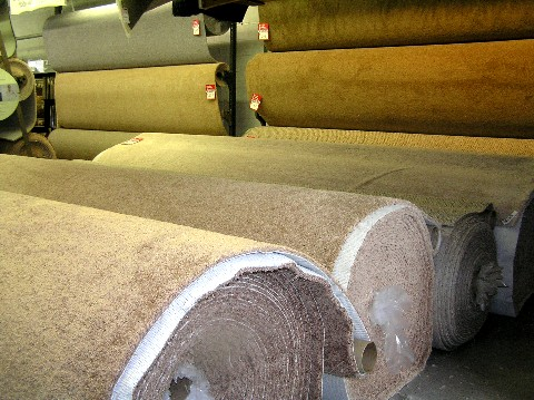 in stock rolls of carpets