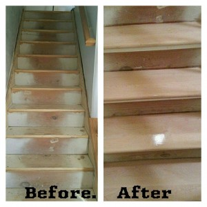 Stair Tread Replacement Wood Flooring